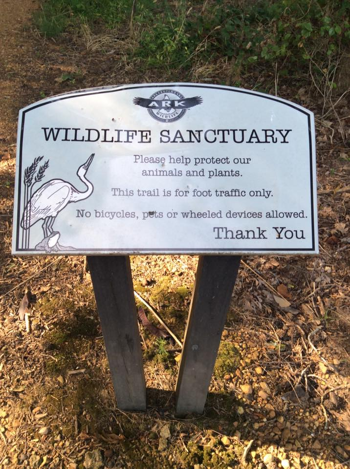 ARK Wildlife Sanctuary Sign