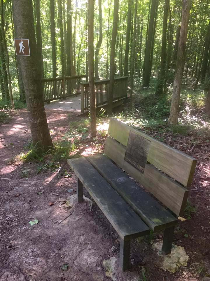 Arkubultla Hiking Trail Bench